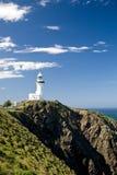 маяк byron залива Стоковая Фотография