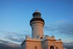 маяк byron залива Стоковые Фотографии RF