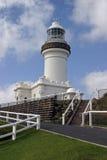 маяк byron залива стоковое фото