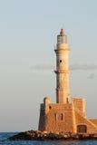 маяк chania стоковое изображение