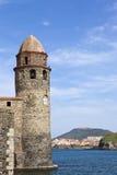 маяк collioure Стоковые Фото