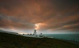 маяк cornwall pendeen западное стоковые фотографии rf