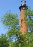 маяк currituck Стоковая Фотография