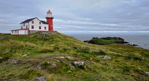 маяк ferryland стоковое фото rf