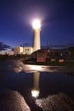 Маяк Flambrough, побережье Йоркшира Стоковые Изображения