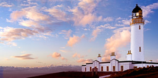 маяк galloway mull Шотландия Стоковые Фото