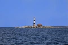 Маяк Isla de los Puercos Стоковые Изображения