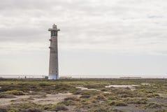 Маяк Jandia Playa, Фуэртевентура Стоковая Фотография