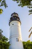Маяк Key West, Флорида, США Стоковое фото RF