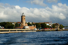 маяк kolobrzeg Стоковые Фото