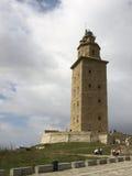 маяк la coruna Стоковое Фото