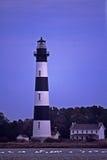 маяк nc острова bodie Стоковая Фотография RF