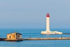 маяк odessa Украина Стоковая Фотография RF