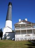 маяк pensacola Стоковая Фотография