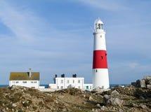 маяк portland Великобритания dorset счета стоковая фотография