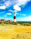 маяк portland счета стоковое изображение