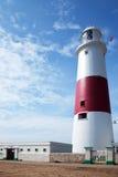 маяк portland dorset счета Стоковая Фотография RF