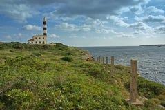 маяк porto colom Стоковые Изображения
