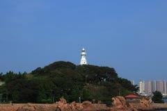 Маяк Qingdao малый Стоковое Изображение