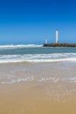 Маяк Torres в ветреном дне и голубом небе Стоковые Изображения