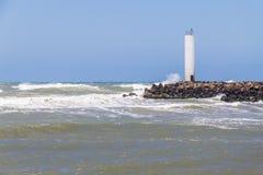 Маяк Torres в ветреном дне и голубом небе Стоковое Изображение RF