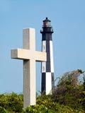 маяк virginia генриа плащи-накидк перекрестный Стоковые Фото
