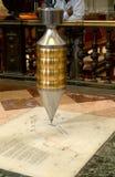 маятник Мексики foucault собора столичный Стоковые Фотографии RF
