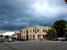 Маячить облаков шторма МАМ Нортгемптона стоковое изображение rf