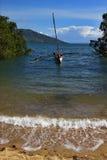 Мадагаскар nosy камень утеса стоковое фото