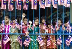 Малайзийские дети Стоковая Фотография