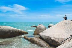 Малайзийский пляж Стоковое Изображение