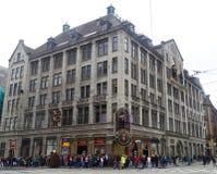 Мадам Tussauds в Амстердаме Стоковое Изображение RF