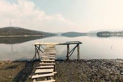 Малая вода на озере Стоковая Фотография