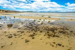 Малая вода на Dunalley Тасмании Стоковые Фотографии RF