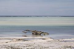 малая вода zanzibar Стоковое Фото