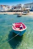 Малая греческая рыбацкая лодка стоковая фотография rf