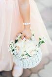Малая девушка цветка Стоковые Фото