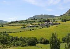 Малая деревня в Pallars Jussa Стоковое Изображение