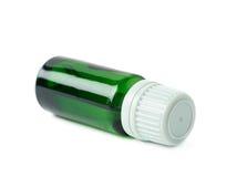 Малая изолированная склянка пробирки Стоковое Фото