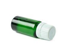 Малая изолированная склянка пробирки Стоковая Фотография
