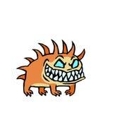 Малая инфернальная собака также вектор иллюстрации притяжки corel Стоковые Фото