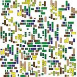 Малая картина квадратов Стоковое Изображение