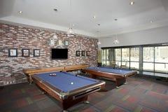 Малая комната биллиардов Стоковое Изображение RF