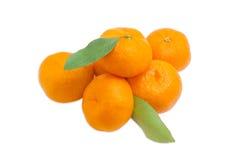 Малая куча апельсинов мандарина Стоковые Фото