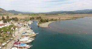 Малая Марина в Анатолии, Akyaka Турции видеоматериал