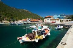 Малая Марина в Plaka, Греции Стоковые Изображения RF
