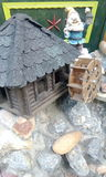 Малая мельница, эльф, украшение Стоковые Фото