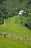 Малая ложа, лачуга в горах стоковая фотография rf