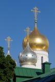 Малая православная церков церковь в Москве Стоковое Изображение