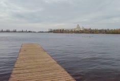 Малая пристань Стоковое Изображение RF